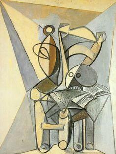 Pablo Picasso, 1946 Crâne sur une chaise on ArtStack #pablo-picasso #art