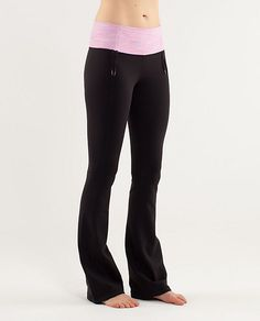Hands down the MOST flattering pant ever!  (for the pear shaped bodies like mine... )  and comfy!!