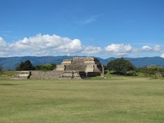 Monte Alban, Oaxaca, Mexico. Most important Zapotec archaeological site in Mexico.  www.mountainbikeworldwide.com/bike-tours/mexico