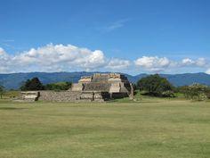 Monte Alban, Oaxaca, Mexico. Most important Zapotec archaeological site in Mexico.  www.mountainbikeworldwide.com/bike-tours/mexico