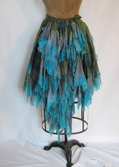hmmmm thinking of how to re-do my blue chiffon skirt....
