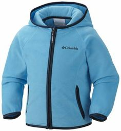 Protect your tiny outdoor enthusiast with the time-tested style and warmth of this fleece hooded jacket. Thumbholes keep the sleeves in place and seal out cold air.