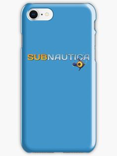 Buy 'Subnautica Logo' by UnknownWorlds as a iPhone Case/Skin, iPhone Wallet, Case/Skin for Samsung Galaxy, Throw Pillow, Tote Bag, Studio Pouch, Mug, Travel Mug, iPad Case/Skin, Laptop Skin, Laptop Sleeve, or Spiral Notebook