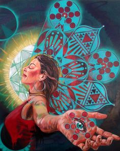 Invocation and Prayer ☽ Navigating the Mystery ☽ artist, Miles Toland