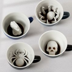 CREEPY CREATURE CUPS