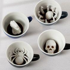 CREEPY CREATURE CUPS