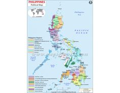 Buy Philippines Political Map - Digital Philippines Political Map in JPG, AI, EPS and Layered PDF format available in store mapsofindia at affordable price. Philippines Geography, Country Maps, Politics, Digital, Store, Stuff To Buy, Larger, Shop