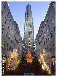 Rockefeller Center, christmas
