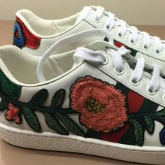Idk if I'd wear these but the embroidery is beautiful