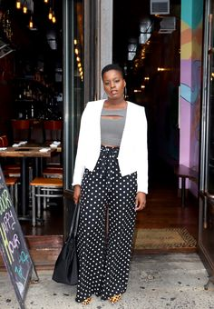 Spring 2020 Fashion Trends To Slay When Outside Opens Teen Fashion Outfits, Casual Outfits, Women's Fashion, Business Fashion, Business Style, Polka Dot Pants, Sequin Mini Skirts, Trending Today, 2020 Fashion Trends