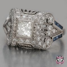 Honeymoons & Destination Weddings  Check out our Facebook Page!  https://www.facebook.com/AAHsf  Art Deco Engagement Ring