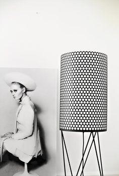 GUBI // Pedrera PD2 Floor Lamp by Barba Corsini http://decdesignecasa.blogspot.it