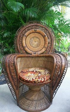 details about vintage calif asia sofa 2 chairs rattan bamboo