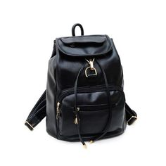Cheap leather rucksack, Buy Quality women backpack directly from China vintage women backpack Suppliers: 2016 hot sale Vintage Women's Backpack Travel Leather Rucksack Shoulder School Bag travel bag whoelsale bolsa feminine Backpack Travel Bag, Rucksack Backpack, Leather Backpack, Fashion Backpack, Leather Bag, Travel Bags, Leather Fashion, Women's Fashion, Leather School Bag