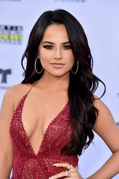 Becky G's close-up at the 2017 Latin American Music Awards in Hollywood