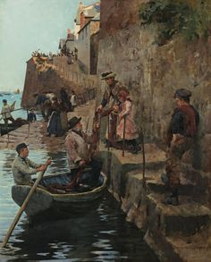 The Slip by Stanhope Alexander Forbes