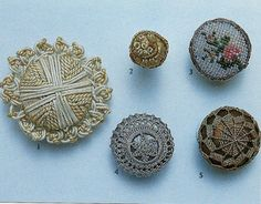 19th century buttons became more decorative and detailed in design
