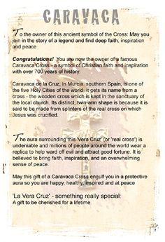 Caravaca cruz cross