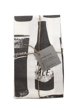 Beer Tea Towels - perfect for housewarming or Christmas gifts.