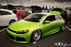 Rodney McKnight's sick looking VW Scirocco