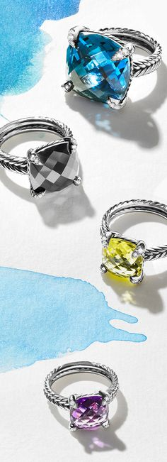 New Châtelaine designs are a celebration of color.