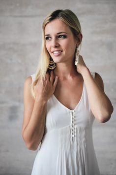 Bella – legeres Brautkleid in angenehmer Viskose. Das perfekte ...