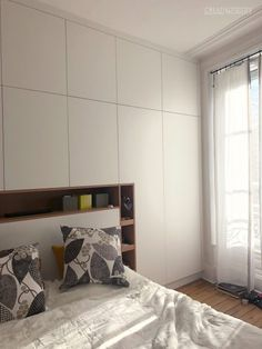 Parents Room, Small Master Bedroom, Building Art, Bedroom Inspo, Bed Cabinet, Architecture Design, Sweet Home, New Homes, Interior Design