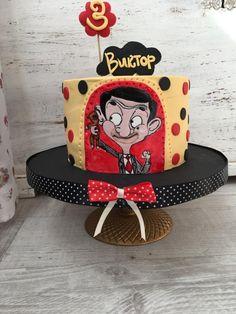 Mr Bean cake - cake by Martina Encheva Mr Bean Birthday, 3rd Birthday, Birthday Ideas, Mr Bean Cake, Bean Cakes, Mr Bean Cartoon, Mr. Bean, 3 Year Old Girl, Backyard For Kids