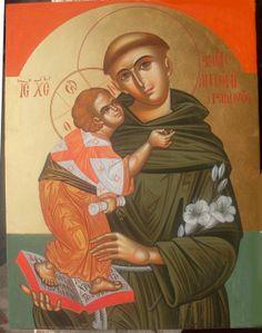 Sant'Antonio da Padova Icon