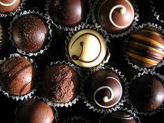 all kind of chocolate bonbon