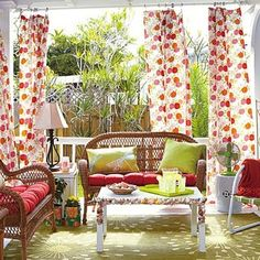 Sunny days and warmer weather signal that summer is right around the corner. What better time to freshen up your front porch? Rest assured that you can create an inviting front veranda without breaking the bank. Start with one favorite item, theme, or color, and work out from there. For example, if you love the idea of a bold front door, paint it in your favorite dramatic color and let that shade guide your choices for lighting, draperies, planters, and accessories. Or, do you have an…