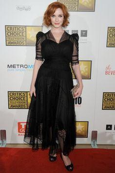 Can I please have Christina Hendricks' dress? K, thanks.