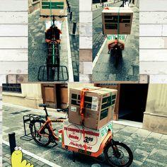Impresora. Tecnoalba. Www.urbanciclo.es - Tw: @urbancicloalba- f: Urban Ciclo - Instagram: @urbanciclo#urbanciclo #ecomensajeria #Albacete #cargobike #bicimensajeria #bikemessengers #bullitteer #bullitt #bullittlife #messlife