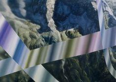 Google Earth II (Montagnes près de Belluno, Italie), 183 x 122 cm, 2016