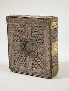 Book or Shrine, Cumdach of the Stowe Missal - Irish - early 20th century copy of original dating from 1025-1052 - Back View