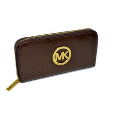 Michael Kors Embossed Logo Large Coffee Wallets.More than 60% Off, I enjoy these bags.It's pretty cool (: Check it out! | See more about michael kors, wallets and logos.