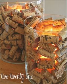 diy rustic centerpieces | DIY  we can put the fake candles in here and nobody would ever know