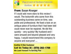 If  I could add more stars to this review I would.   The locksmith who came from this...