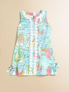 Lilly Pulitzer Kids - Toddler's & Little Girl's Lilly Lace Shift - Saks.com