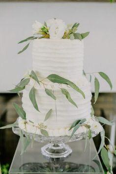 Ruffled White Wedding Cake with Eucalyptus Blue Gold Wedding, Fall Wedding, New York Bride, Floral Hoops, Cake Cover, Wedding Cake Inspiration, Father Of The Bride, Wedding Designs, Wedding Cakes