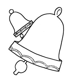 simple shapes coloring pages bells shape coloring pages images of colours simple shapes