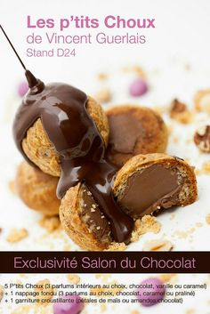 Ptis Choux, by Vincent Guerlay #yum #chocolat