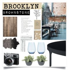 """Brooklyn Brownstone"" by rosalie45 ❤ liked on Polyvore featuring interior, interiors, interior design, home, home decor, interior decorating, Wedgwood, Safavieh, Bloomingville and Fuji"