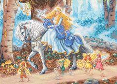 """Вышивка """"Fairytale""""   Скачать схему бесплатно на сайте Stitchart.net"""