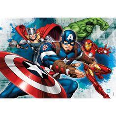 Avengers Comics, Avengers Cartoon, Marvel X, Avenger Party, Clementoni Puzzle, 3d Puzzle Ravensburger, Hulk Coloring Pages, Puzzles Für Kinder