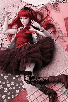 """Lady In Red..."" (BJD)"