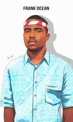 Find the best Frank Ocean Wallpapers on GetWallpapers. We have background pictures for you! Arte Hip Hop, Hip Hop Art, Travis Scott, J Cole And Drake, Frank Ocean Wallpaper, Ocean Drawing, Music Museum, Rapper Art, Stoner Art