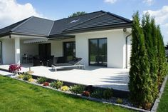 My House Plans, House Layout Plans, Family House Plans, House Layouts, Home And Family, Modern Tropical House, Tropical Houses, Single Storey House Plans, Modern Bungalow House