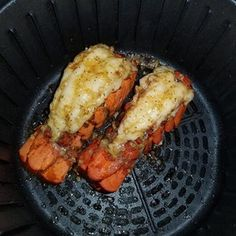 Air fryer lobster tails recipes in 2019 Air Fryer Oven Recipes, Air Frier Recipes, Air Fryer Dinner Recipes, Air Fryer Recipes Shrimp, Healthy Recipes, Cooking Recipes, Vegetarian Recipes, Ninja Recipes, Tofu Recipes