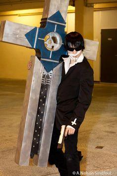 Le cosplayeur débutant Smis en Nicholas D. Wolfwood de Trigun Maximum Découvrez son profil => https://www.facebook.com/SMIS.Teamvirus